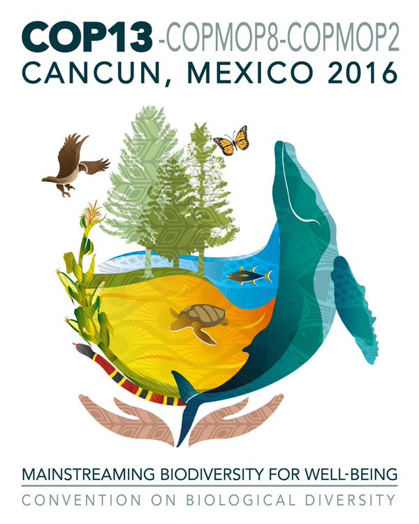 COP 13 - Conference of the Parties December 2016 logo